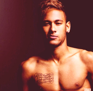 neymar shirtless