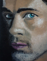 oil painting - brad-pitt fan art
