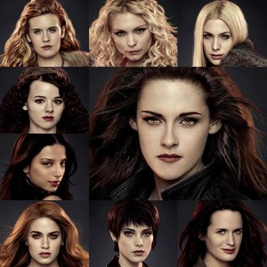the ladies of the Twilight Saga