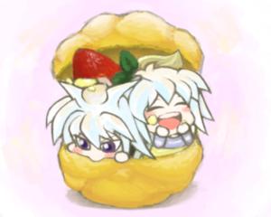 yami bakura x ryou chibi ♡