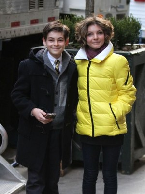 young Bruce and Selina from GOTHAM