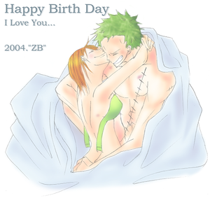 zoro nami one piece kk