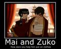zuko and mai