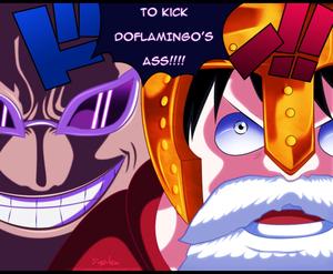 *Doflamingo v/s Luffy*