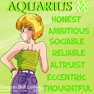 ● Dragon Ball Ladies Horoscope ●