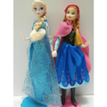 फ्रोज़न Elsa Anna गुड़िया