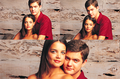 Josh and Katie  - joshua-jackson-and-katie-holmes fan art