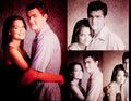 Josh and Katie  - joshua-jackson-and-katie-holmes fan art
