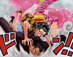 *Luffy Saves Kyros From Mingo*