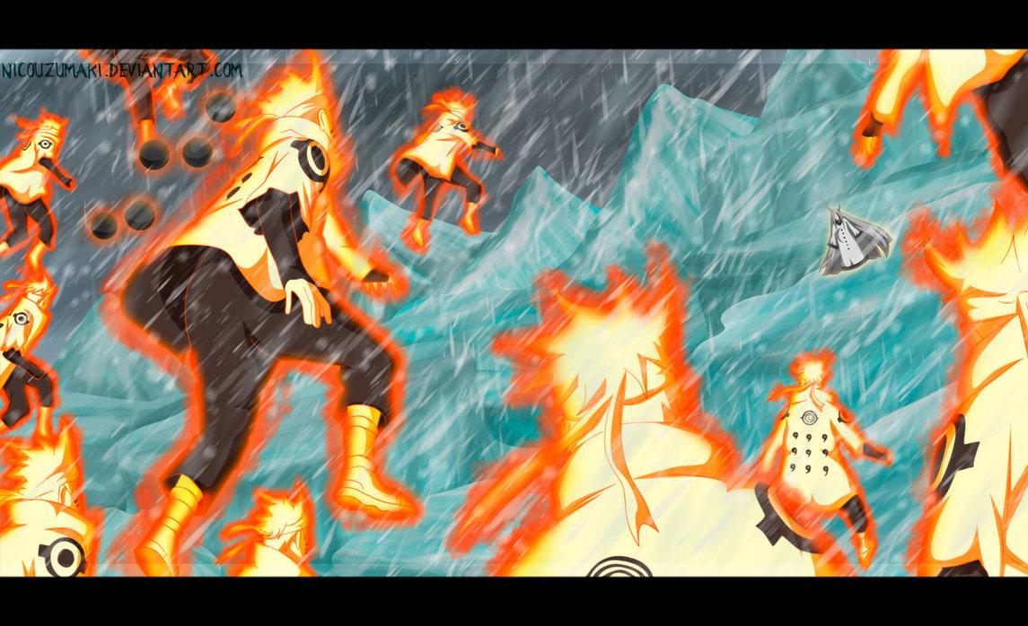*Naruto v/s Kaguya*