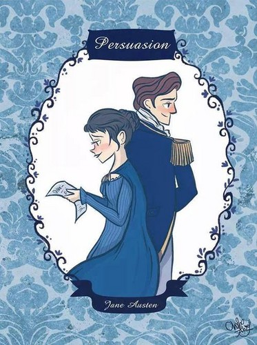 Jane Austen wallpaper probably with anime called ** Persuasion**