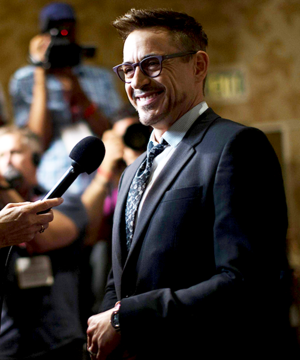 Robert Downey Jr at San Diego Comic-Con