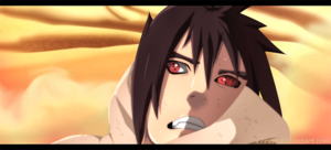 *Sasuke Caught In Kaguya's Dimension*