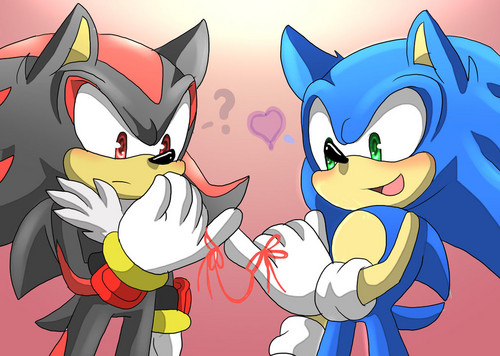 Sonadow wallpaper containing anime entitled .:. Sonadow .:.