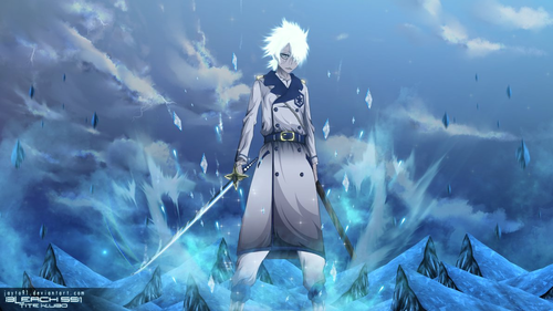Bleach Anime Wallpaper Titled Zombie Toshiro Hitsugaya