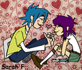 2-D feeding Noodle cookies~!