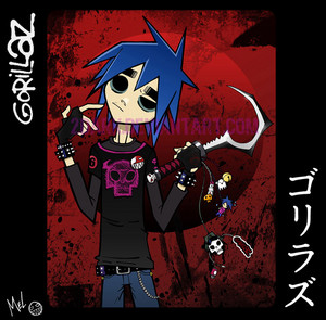 2-D from Gorillaz