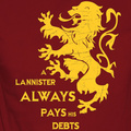 A Lannister always pays his debts - game-of-thrones fan art