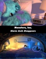 A mistake in monsters inc. - pixar photo