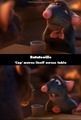 A mistake in ratatouille  - pixar photo