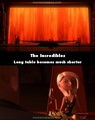 A mistake in the incredibles. I notice this every time I see the movie - pixar photo
