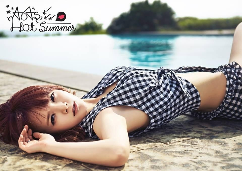 AOA's HOT Summer Teaser Jimin