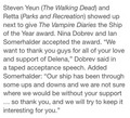 Acceptance speech  - damon-and-elena photo
