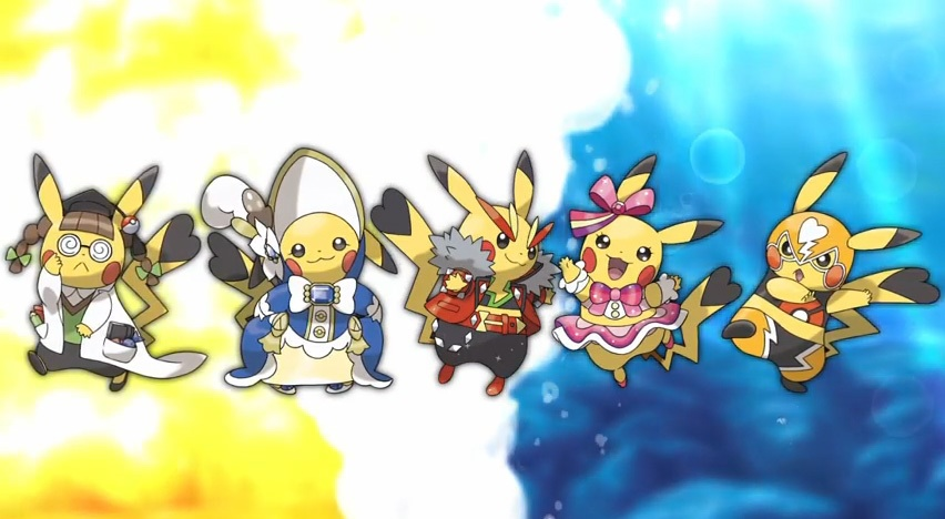 All Cosplay Pikachu