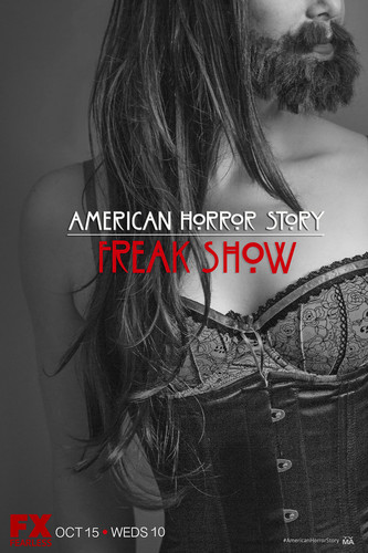 American Horror Story wallpaper with a portrait titled American Horror Story Freakshow Fan Art