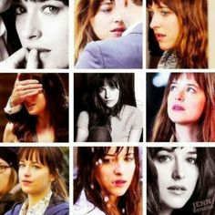 Fifty Shades of Grey Hintergrund with a portrait called Anastasia Steele