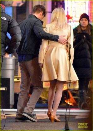 Andrew 가필드 and Emma Stone in The Amazing Spider-Man 2