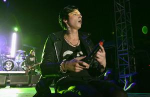 Andy Biersack at the Alternative Press muziek Awards 2014