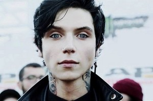 Andy Biersack at the Alternative Press musique Awards 2014