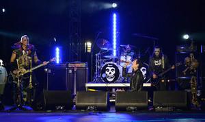 Andy Biersack at the Alternative Press musik Awards 2014
