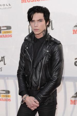 Andy Biersack at the Alternative Press âm nhạc Awards 2014