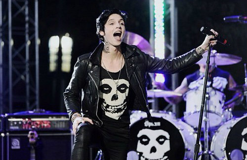 Andy Biersack at the A...