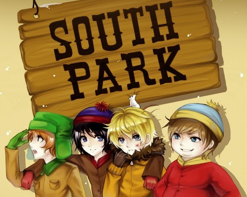 South Park karatasi la kupamba ukuta entitled anime South Park