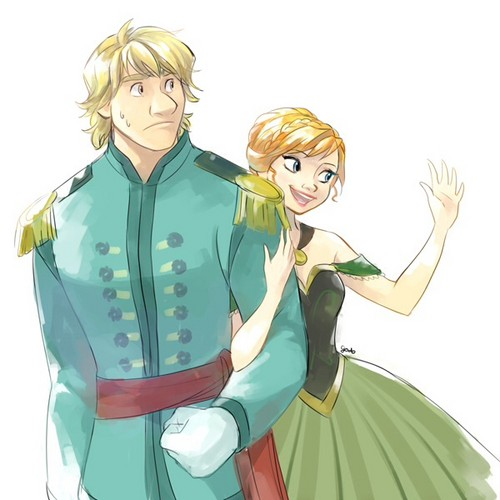 Anna and kristoff images anna and kristoff wallpaper and background