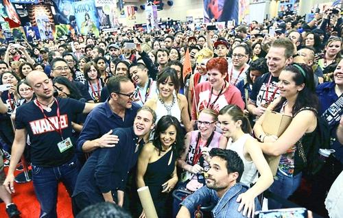 AoS Cast - San Diego Comic Con 2014