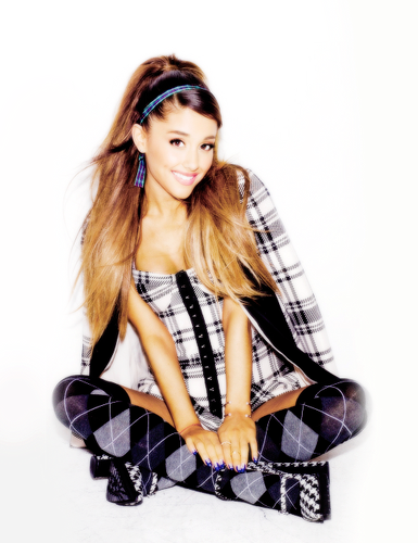 "Ariana Grande wallpaper containing a legging called Ariana Grande for ""Seventeen Magazine"" 2014"