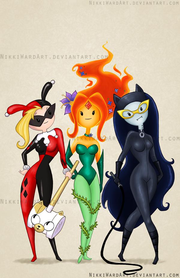 Arkham Girls crossover