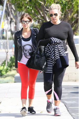 Ashley out in Beverly Hills - February 22nd