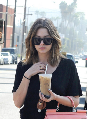 Ashley out in LA - January 29th