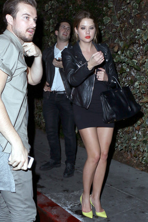 Ashley out in West Hollywood - January 23rd