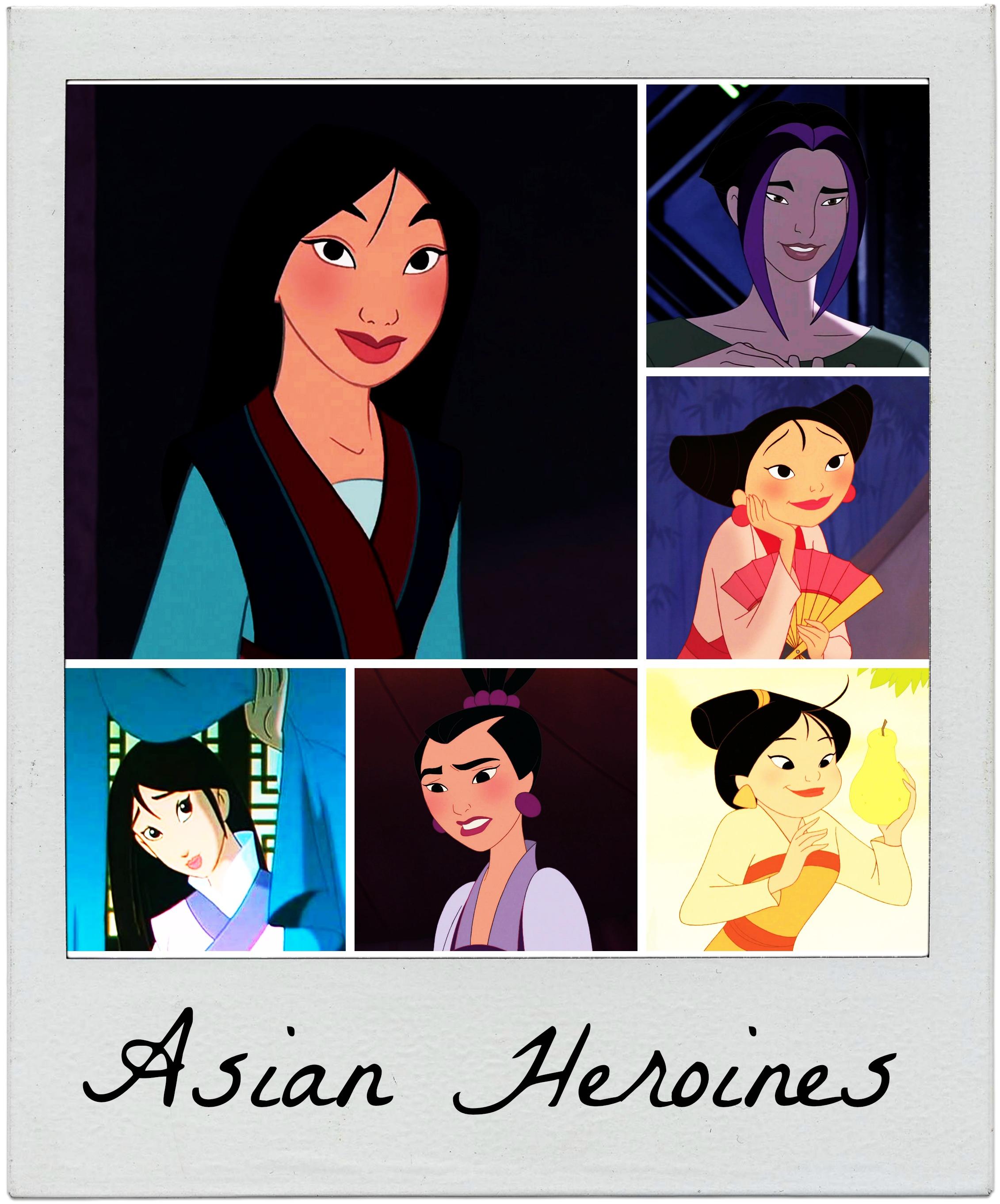 Asian Heroines