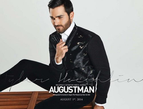 Tyler Hoechlin fond d'écran containing a business suit, a well dressed person, and a suit entitled August Man Malaysia August 2014