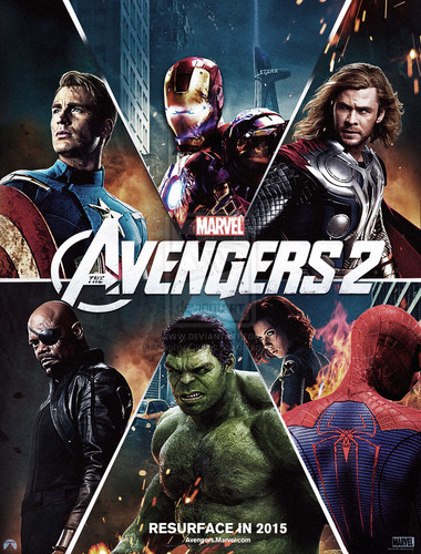 The Avengers wallpaper with anime called Avengers 2 Age of Ultron