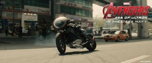Avengers: Age Of Ultron - Nat's Ride