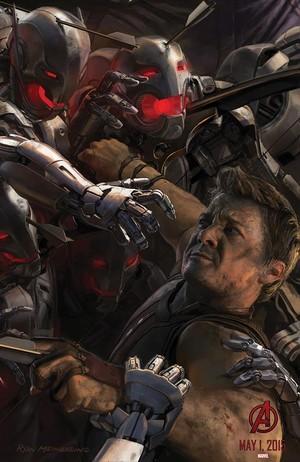 Avengers: Age Of Ultron Poster Art