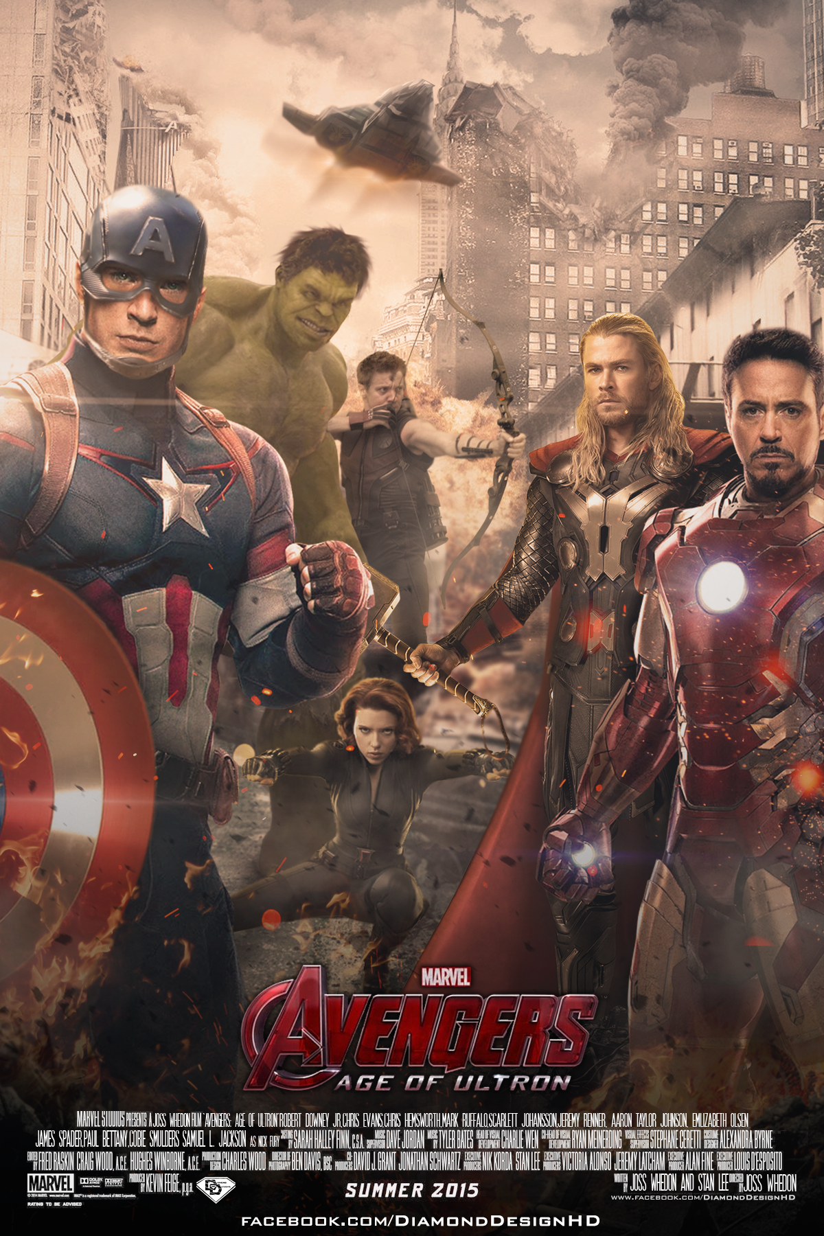 the avengers images avengers age of ultron fan made poster hd